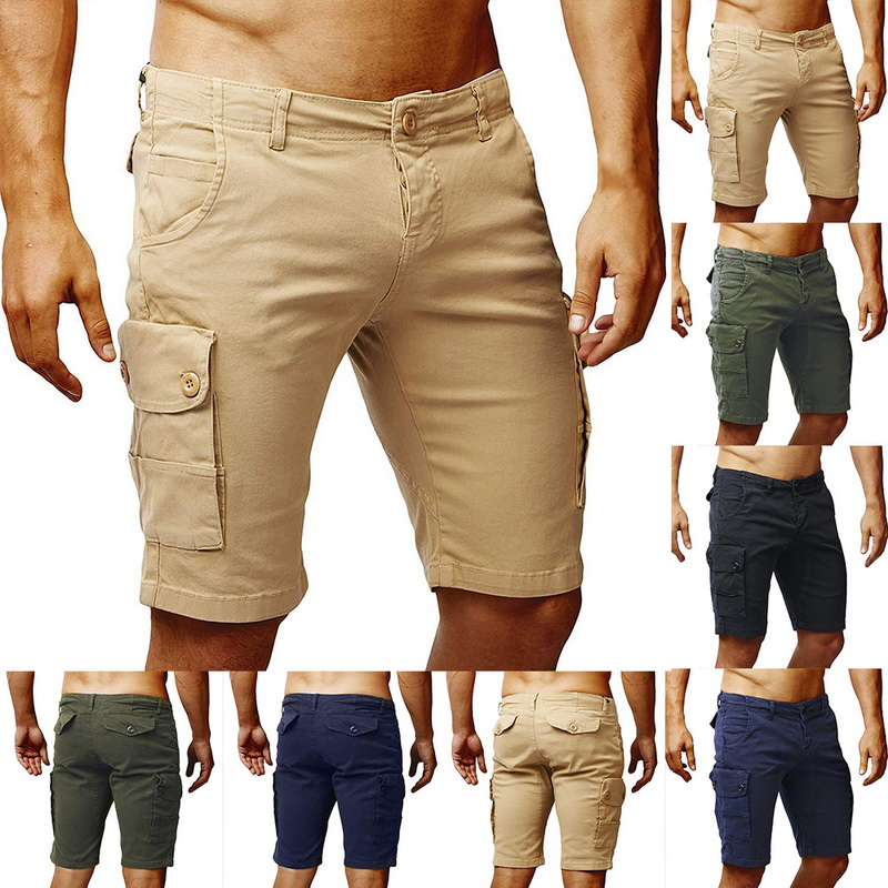 Casual Shorts Homme Skinny Cotton Summer Fashion Breathable Beach New Cool Slim Men