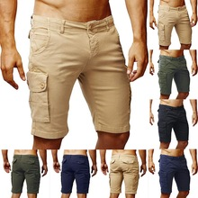 New Summer Breathable Casual Shorts Fashion Cool Cotton Men Casual Shorts Skinny Slim Comfortable Short Pants Men Beach Homme
