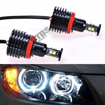 OTBS 6000K super white H8 80W Angel eyes LED Marker bulb 12V for BMW E87 E82 E92 M3 E93 E70 X5 E71 X6 canbus error free