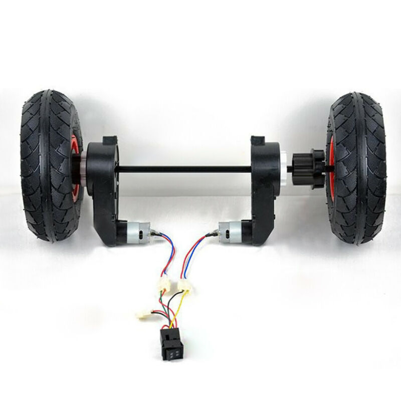 Assembly Motor Gearbox Gear Wheel Electric Ride On Model Car Vehicles Replacement Parts Accessory RS550 DC 12V