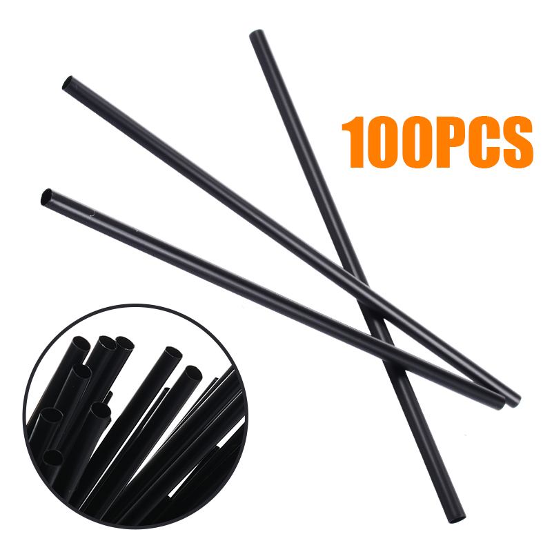 Mayitr 100Pcs/lot Plastic Mini Cocktail Straws DIY Party Straw 3mm Drinking Straw For Celebration Drink Decor Drink Tools