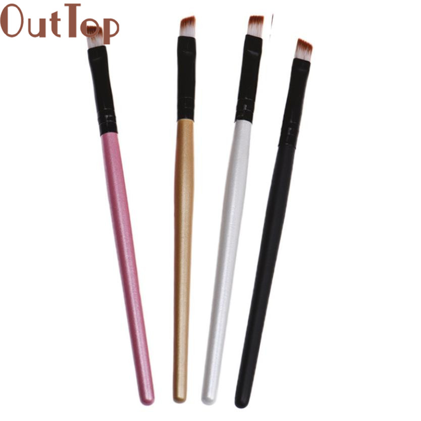 OutTop Eyebrow Cosmetic Makeup Brushes Multi-Function Pincel maquiagem Make up brush Cosmetics Beauty Maquillaje 2017 New  Apr24 35000r import permanent makeup machine best tattoo makeup eyebrow lips machine pen