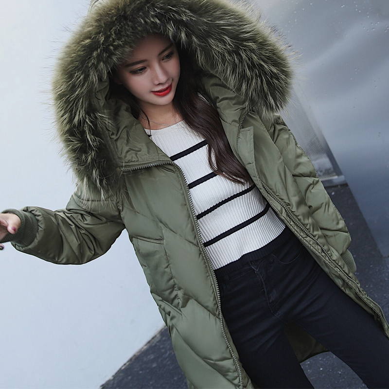 New Winter Jacket Women Coats Female Outerwear 2017 Autumn Winter Casual Long Thick Wadded Jackets Warm Coats Snow Wear Parkas winter jacket women cotton padded thickening warm coat women s wadded jackets fur hood snow wear outerwear coats and parkas