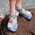 Star spangled banner tecido stretch natação água unisex calçados casuais dos homens sapatos masculinos suaves sapatos vadear verão seaside