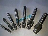 Free Shipping 7pcs 4 Flute AL HSS Counterbore End Mill M3 M12 Metric Endmill Sink Holes