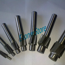 Free Shipping 7pcs 4 Flute AL HSS Counterbore End Mill M3--M12 metric Endmill/sink holes drilling head milling cutter