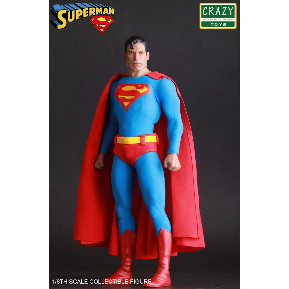 Crazy Speelgoed Justice League Superman Super Hero PVC Action Figure Collectible Model Toy Doll 30cm KT2985-in Actie- & Speelgoedfiguren van Speelgoed & Hobbies op  Groep 3