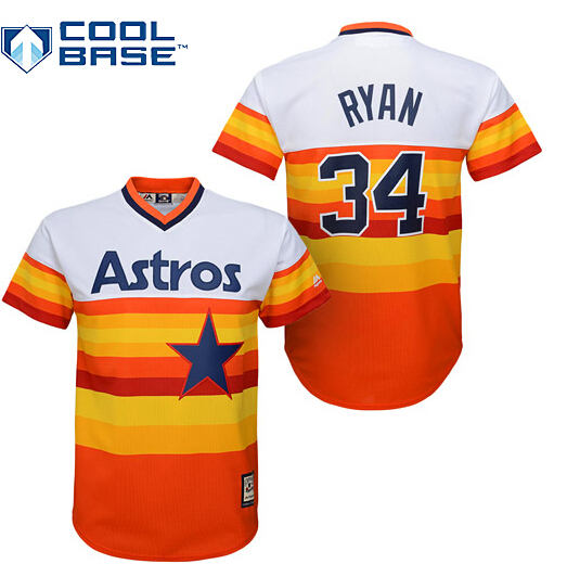 buy online d9d97 8f076 Authentic Custom Houston Astros Youth jerseys Stitched #34 ...
