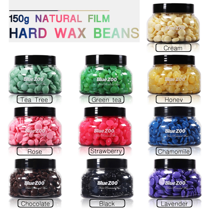 Professional Hair Removal Wax Painlessly Remove Hair Paper Free Hair Removal Bean Pot Wax For Women Men