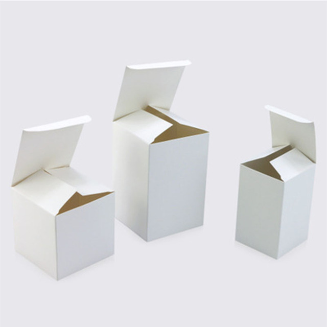 dd37fdaec310 White carton custom-made packaging box for spot products general white box  gift carton wholesale color box custom printing