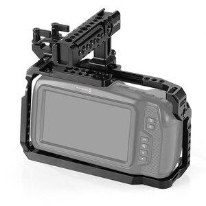 Image 2 - SmallRig BMPCC 4 K Cage Kit for Blackmagic Design Pocket Cinema Camera 4K BMPCC 4K / BMPCC 6K Comes with Nato Handle SSD Mount