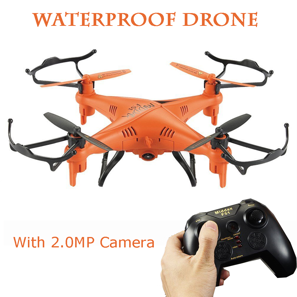 Aviax F51C Quadcopter 6-Axis 2.4GHz RC Helicopter Drone with 3D Flip Headless Mode/ 2MP HD Camera / LED Lights / 4G SD Card RTF mini drone rc helicopter quadrocopter headless model drons remote control toys for kids dron copter vs jjrc h36 rc drone hobbies