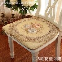 Dày lên của đệm ghế mộc mạc thêu thời trang đệm ghế ăn đệm món quà chất lượng