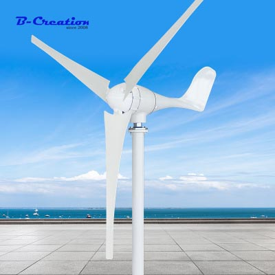New Wind Power Generator 600w 24v Mini Wind Generator Horizontal For Turbine With 3pcs Blades ,ce Certificate ApprovedNew Wind Power Generator 600w 24v Mini Wind Generator Horizontal For Turbine With 3pcs Blades ,ce Certificate Approved