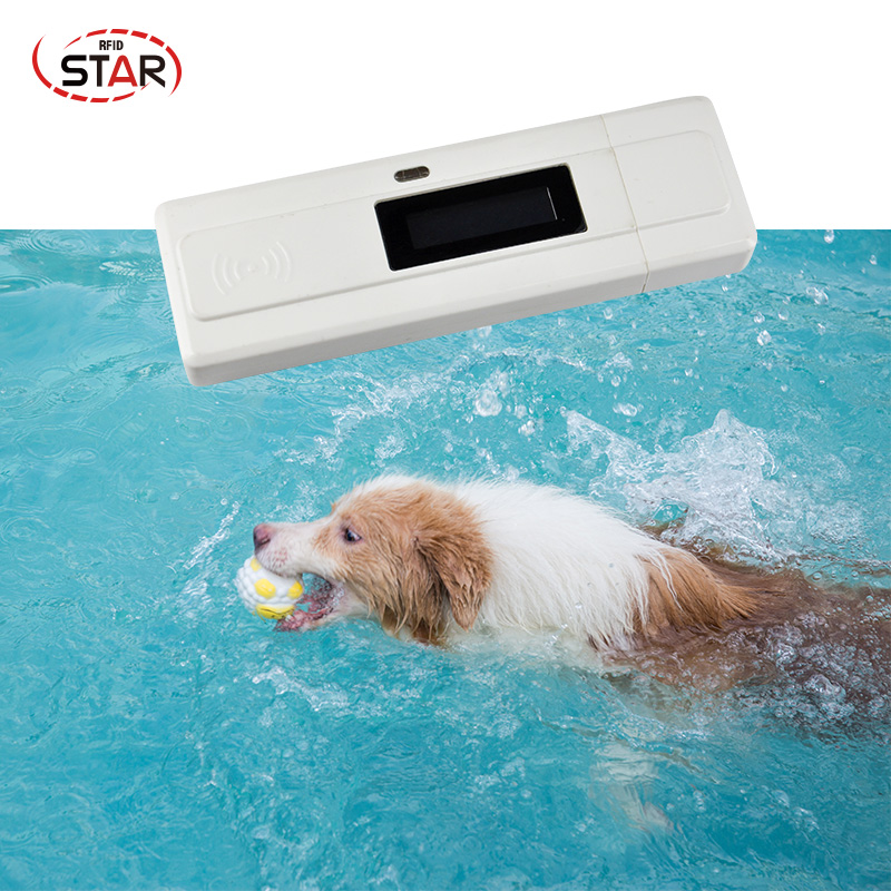 USB Small Size Pet Microchip Scanner FDX-B Animal RFID Tag Reader Dog Reader 134.2KHz Low Frequency Animal RFID PET ID Reader