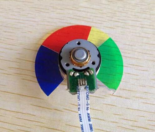 New For BENQ MP721 MP721C MP725 MP775 MP770 MP615 MP720 DLP Projector Color Wheel brand new dlp projector color wheel for benq mw814st