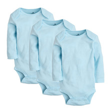 3PCS/Set Baby Girls Bodysuits 100% Cotton Newborn Long Sleeve Body Clothing Infant Jumpsuits Toddler Clothes Baby Boys Bodysuit(China)