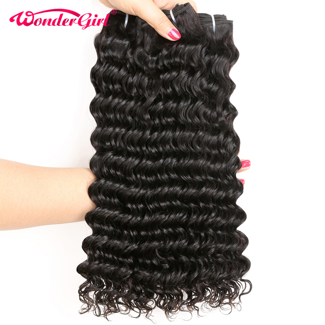 3 Bundle Deals Malaysian Deep Wave Hair Bundles 100 Human Hair
