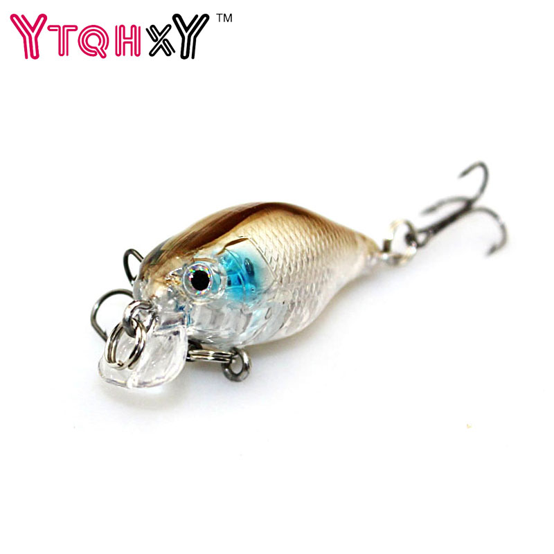 1PCS 4cm 4.2g pesca crank bait hard Bait tackle artificial lures swim bait fish japan wobbler Free shipping YE-240