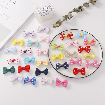 10PCS/Lot Fashion Girls Colorful Bow Flower Spot Star Hairpins Barrettes Children Cute Hair Clips Headband Kids Hair Accessories