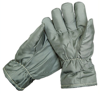 Quality Enviromen Friendly Fabric Working Gloves Lower Temperature Protecting Gloves Elastic Cuff