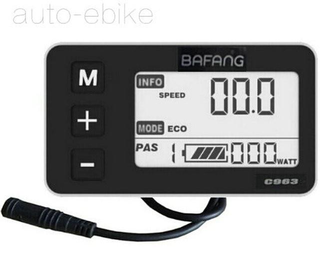 Bafang Conversion Central Kit 36V48V BBS01 BBS02 BBS03 BBSHD C961 LCD Display