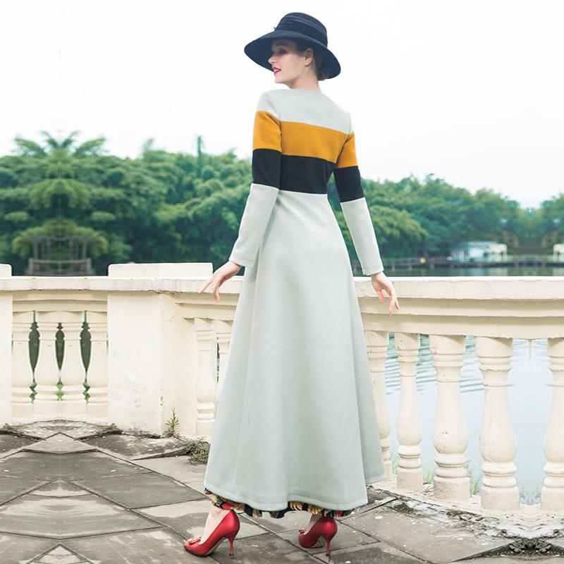 2018 Pardessus Manteau De Nouvelle Unique Mince Mode Femelle Dz1002 Femmes Coréenne Type Laine Long Hiver Poitrine 8XnOP0wk