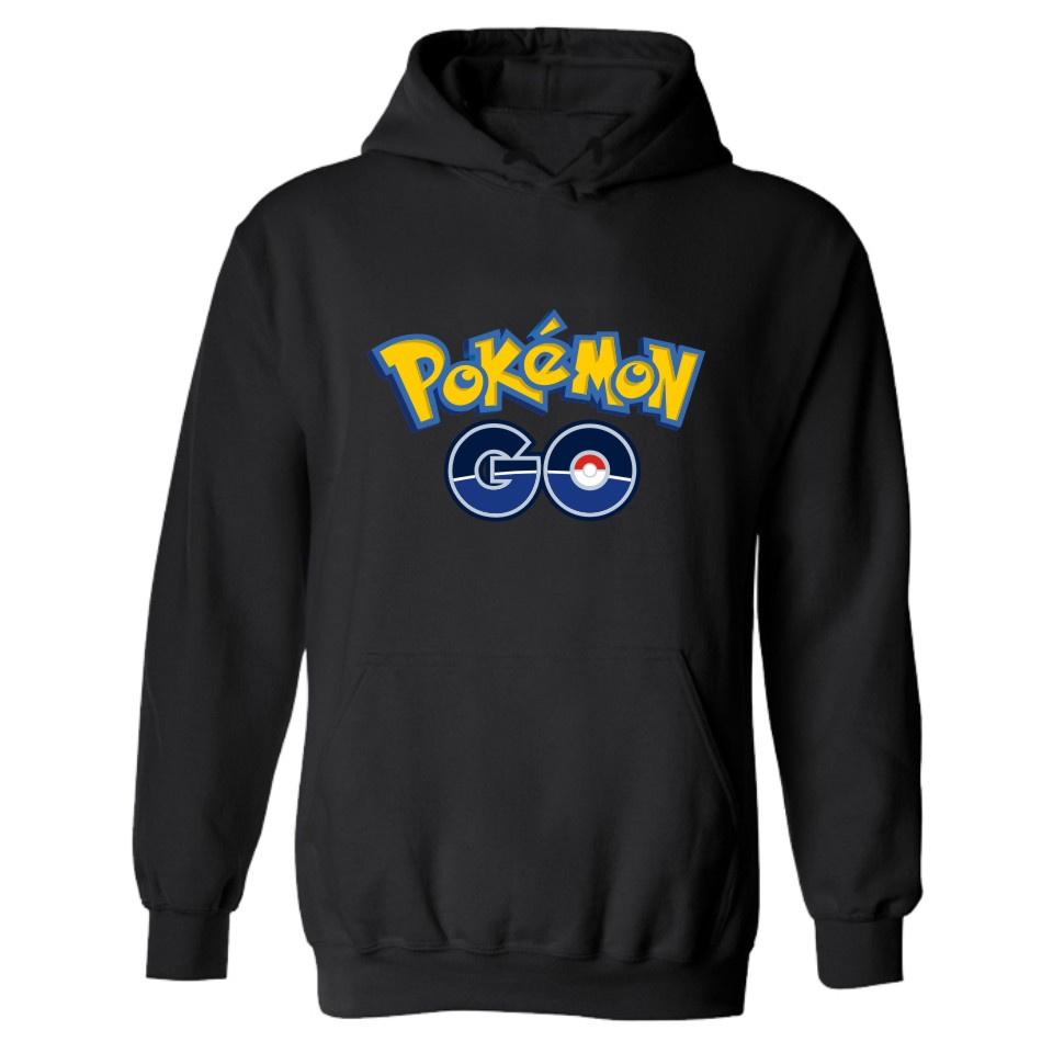 Pokemon Go Hooded Mens Hoodies And Sweatshirts Set Classic Japanese Anime Winter Hoodies ...