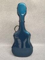 New one High Quality Blue Glass Fibre guitar case, 39 41 classical guitar case color