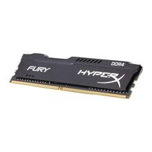 Kingston оригинальный Оперативная память Hyper Fury DIMM черный памяти Оперативная память 8 ГБ 16 ГБ DDR4 2400 мГц Desktop 288 pin 1,2 В внутренней памяти Оперативная память для ПК