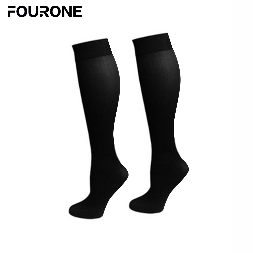 Nylon Pressure Compression Varicose Vein Leg Relief Pain Knee High Support Long Sockings