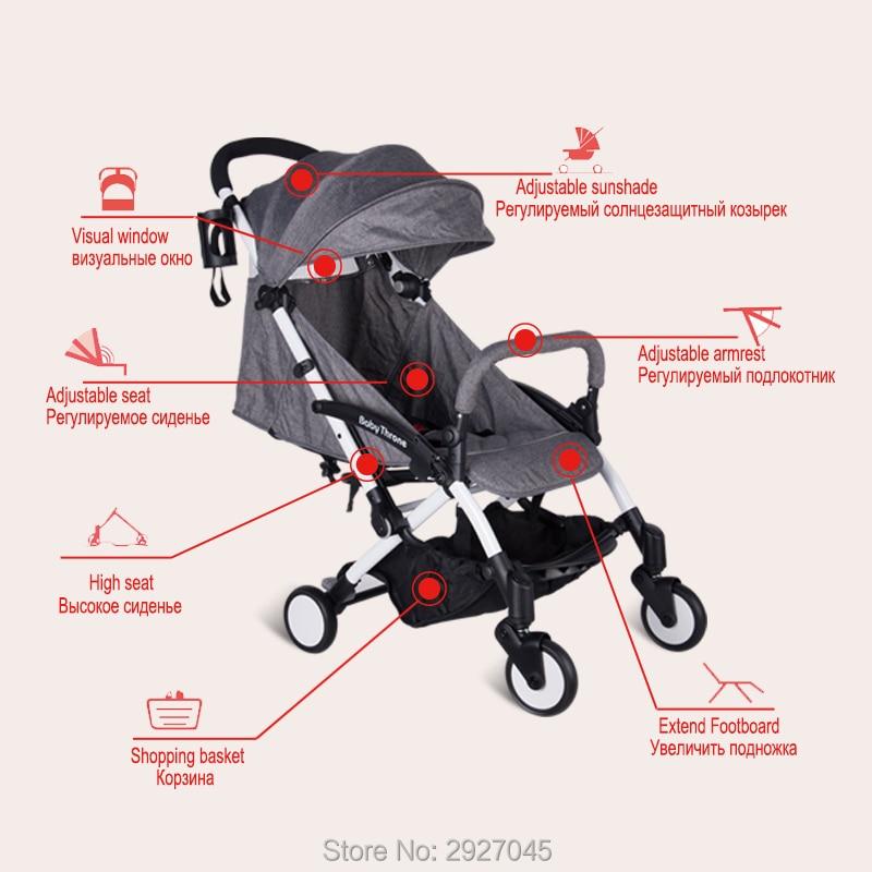 Baby Throne Portable Baby Stroller Light Weight Umbrella Stroller Baby Wheelchair Prams Carriage For Newborns Children Kids