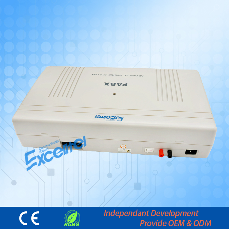 Big Capacity PABX/ CP1696-448 4 PSTN Line 48 Extension/Billing Software Management -Greeting Download