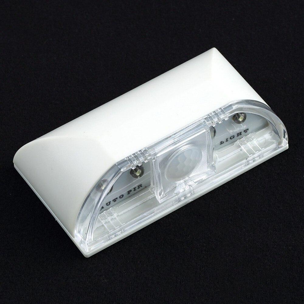 4 светодиодных Бусины и бисер Авто ПИР Инфракрасный Обнаружение движения Сенсор дома двери лестница Светодиодная лампа ночник для Спальня ... ...