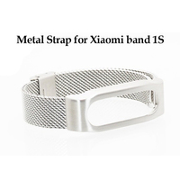 Replace for Xiaomi Mi Band 1S 1A Smart Wristband Metal Strap Stainless Bracelet For Xiaomi Mi Band 1S plus Miband Bracelet Strap