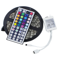 5050 RGB led strip 5m 300LED 12V Not Waterproof LED tape String Stripe Bar Neon Bombillas Led Lamp light + 44Key Remote