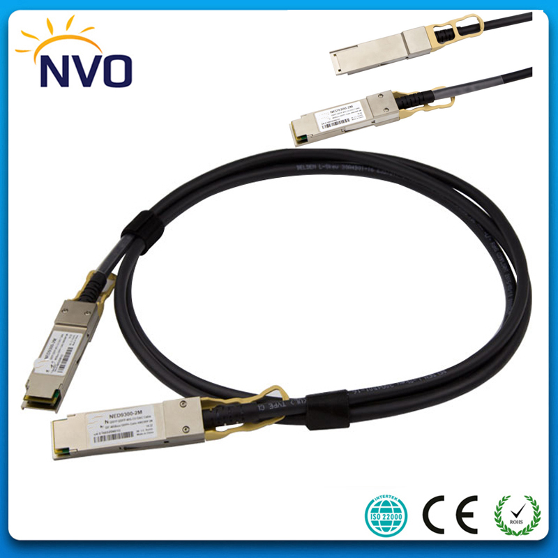40G QSFP to QSFP DAC 2M AWG30 DAC Cable,40G QSFP 2M Cable QSFP-QSFP10G-CU2M 30AWG 2M DAC Copper Direct Attach Cable