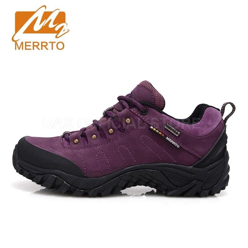MERRTO Women Waterproof Hiking Shoes For Women Sneakers Breathable Women Trekking Walking Shoes Waterproof Mountain Boots Female dudini waterproof women