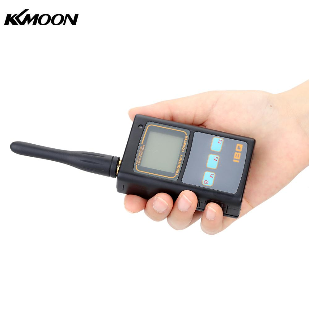 Handheld cymometer Digital LCD Frequency Counter with UHF antenna analyzer frequency meter 50MHz-2.6GHz for Two Way Radio new lcd digital lcd frequency counter meter herz tester cymometer 10hz 199 9hz blue backlight