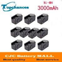 10pcs 3000mAh Battery Fo MILWAUKEE 18V 18 Volt 48 11 2200 48 11 2230 48 11