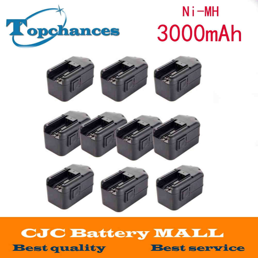 10pcs 3000mAh Battery fo MILWAUKEE 18V 18 Volt 48-11-2200 48-11-2230 48-11-2232 цена