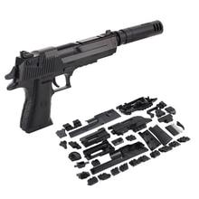 Zhenwei DIY Assembling Toy  Millitary Gun Gun Weapon Pistol Gunshot Kid Boys Gift Outdoor Game Toy For Children