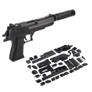 Image 1 - Zhenwei لتقوم بها بنفسك تجميع لعبة الألفية بندقية بندقية سلاح مسدس رصاصة طفل الفتيان هدية في الهواء الطلق لعبة لعبة للأطفال