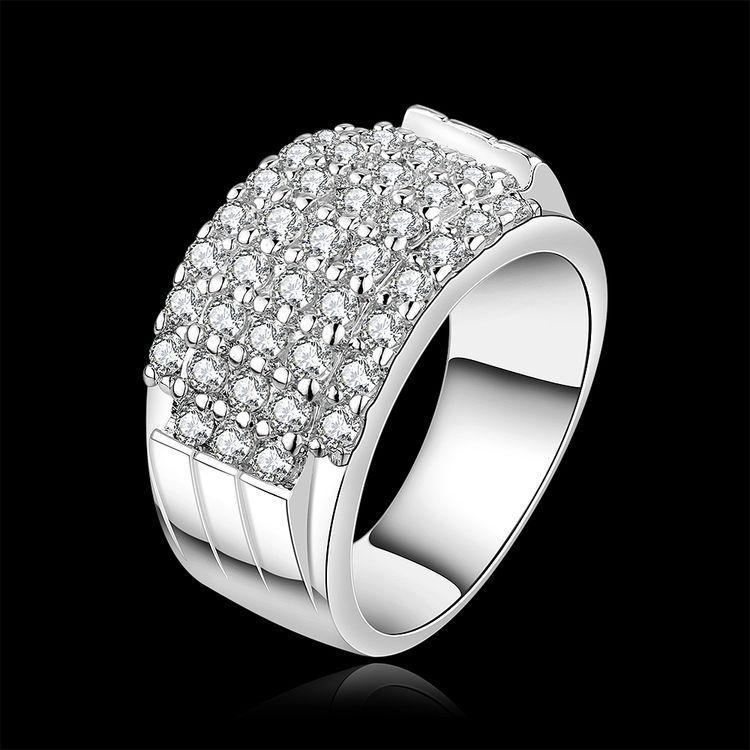 2015 Hot Fashion font b Wedding b font Rings For Women Wholesale Price Women Fashion Crystal