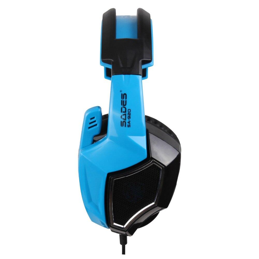 Sades SA-920 Stereo Gaming Kõrvaklapid kõrva juhtmega mängu - Kaasaskantav audio ja video - Foto 2
