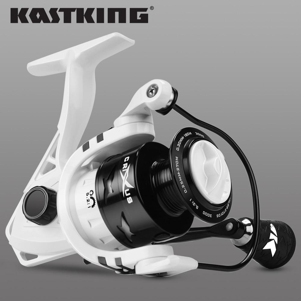 KastKing Crixus 9 kg Max Darg Spinning Angeln Reel Graphit Körper Carbon Drag Washer 5,2: 1/4. 5:1 getriebe Verhältnis Angeln Coil