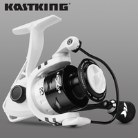 KastKing Crixus 9kg Max Darg Spinning Fishing Reel Graphite Body Carbon Fiber Drag Washer 5.2:1/4.5:1 Gear Ratio Fishing Coil