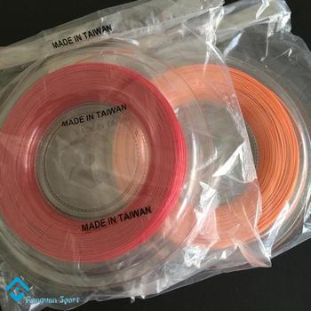 Free Shipping 1 Reel Quality Taiwan Made Control Hexagonal Polyester Tennis Racket ,Tennis Racquet Strings  200M