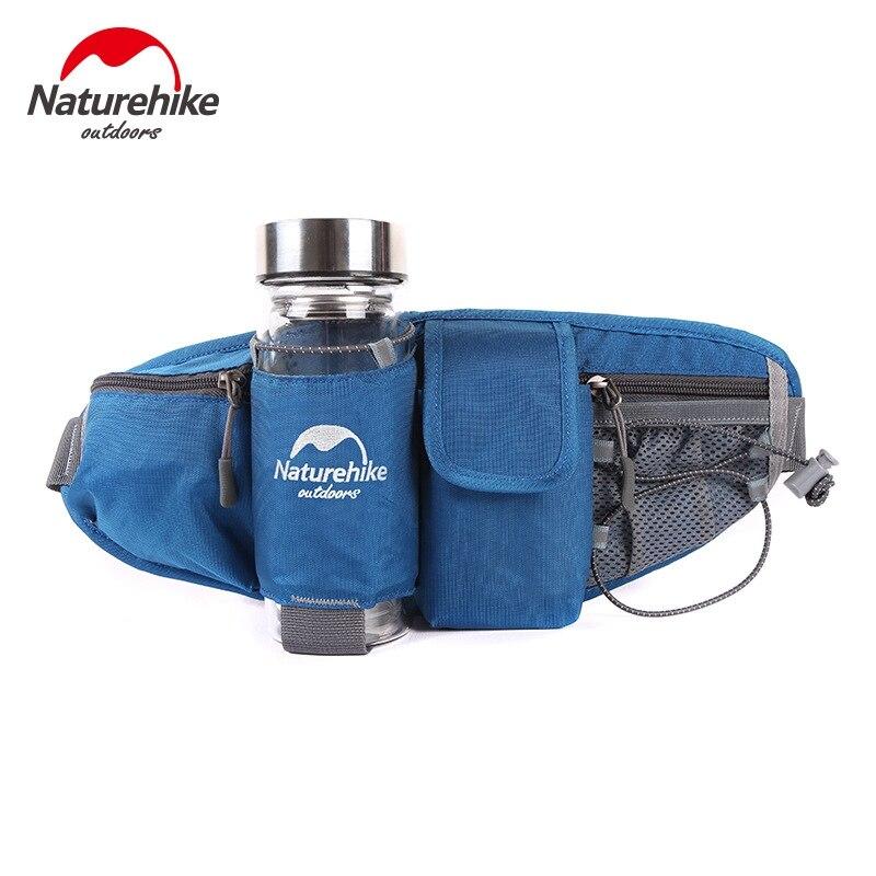 Naturehike ejecutando cinturón bolsa con soporte para botellas de agua riding bi