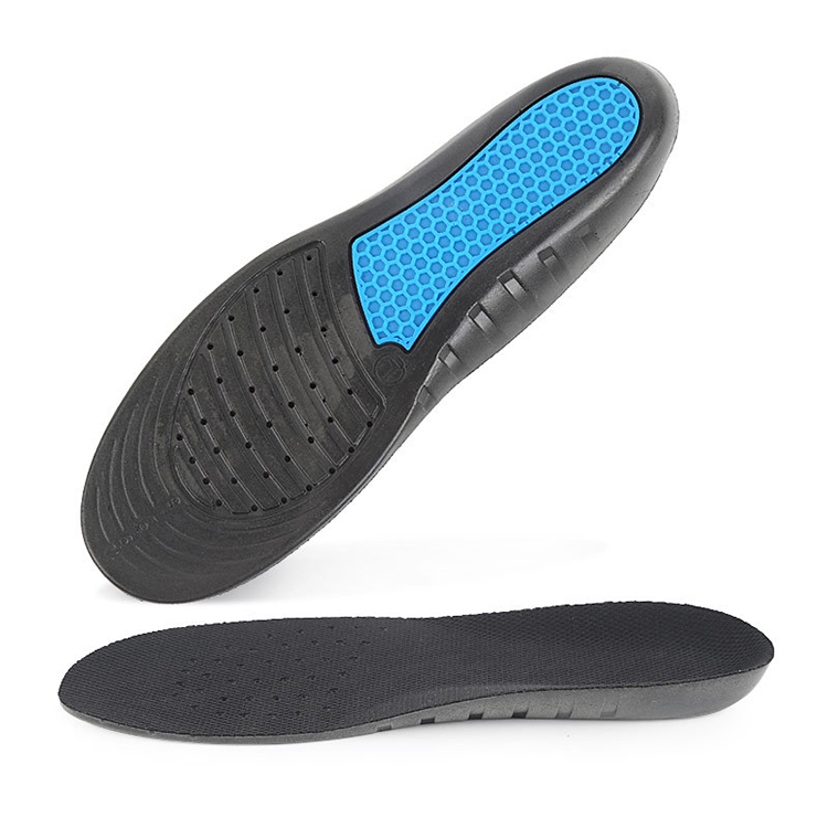 150PAIRS/LOT Breathable Comfortable Sweat-Absorbent Perforated PU Foam Insoles with Honeycomb Structure for Running Sport